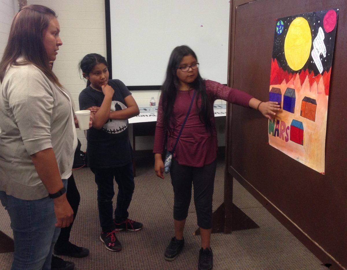 Native American Astronomy Outreach poster presentation